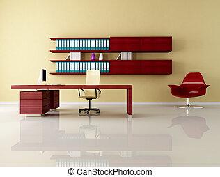 現代, 辦公室空間