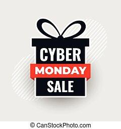 現代, giftbox, セール, 月曜日, cyber, 弓