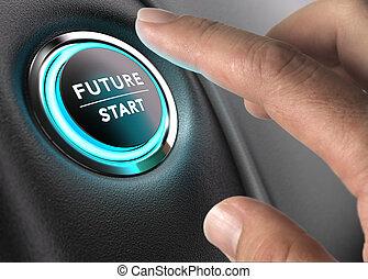 現在, 未來, 視覺, 戰略性