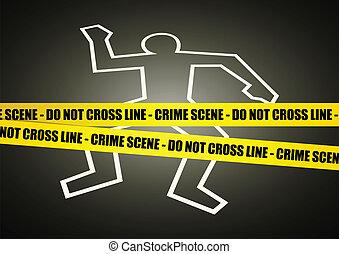 現場, 犯罪