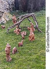 現場, nativity, クリスマス