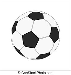 現実的, サッカーボール