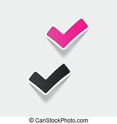 現実的, デザイン, element:, カチカチいいなさい, はい