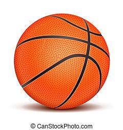 現実的, バスケットボールボール