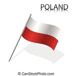 現実的, ポーランド人の旗
