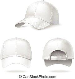 現実的, 帽子, 野球