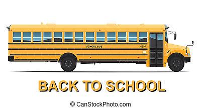 現実的, 黄色のスクールバス