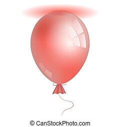 現実的, 3d, balloon.