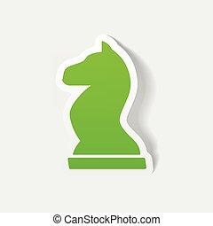 現実的, element:, デザイン, チェス