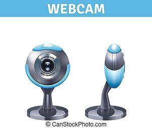 現実的, webcam, デザイン