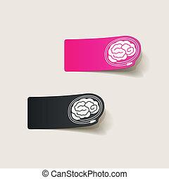 現實, 設計, element:, brain-usb, 塞子
