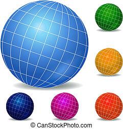 球体, 圖象, 集合