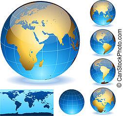 球体, 地球
