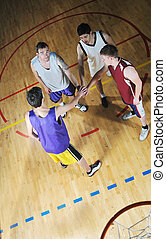 球 プレーヤー, ゲーム, バスケット, スポーツ, ホール