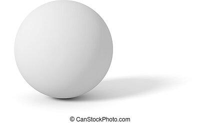 球, マット, 灰色