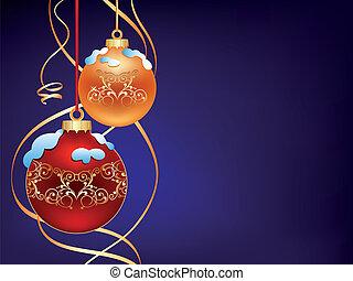 球, 二, 聖誕節