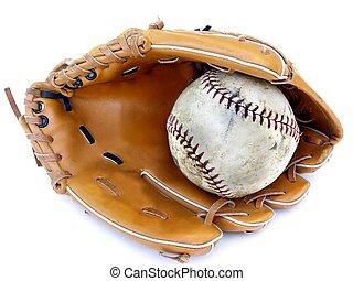 球, 以及, 手套