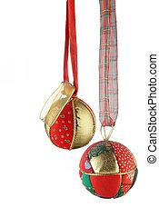 球, 圣诞节