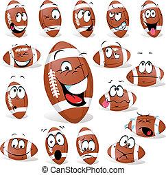 球, 橄欖球