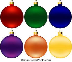 球, 聖誕節