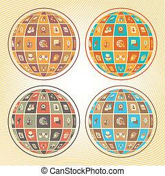 球, 聯网, 社會