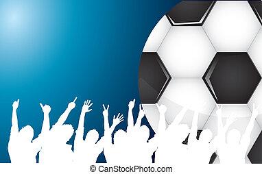 球, 足球, 人