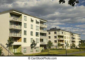 瑞典語, 公寓