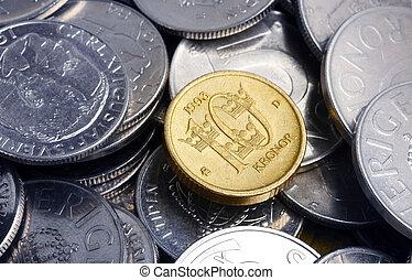 瑞典語, 硬幣