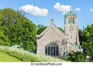 瑞典, 斯德哥爾摩, 老, 中世紀, 教堂