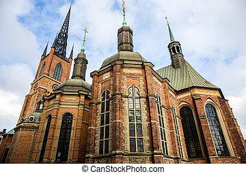瑞典, 斯德哥爾摩,  -,  riddarholm, 教堂