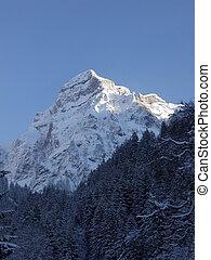 瑞士, 山頂部