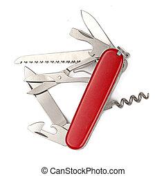 瑞士  軍刀, 被隔离