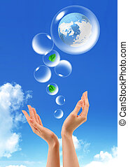 環境の保護, シンボル