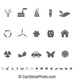 環境, シンボル, ecoloy