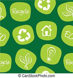 環境, リサイクルしなさい, 緑