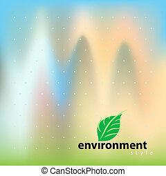 環境, bio, スタイル, ベクトル