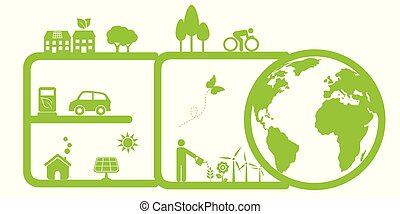 環境, eco, きれいにしなさい