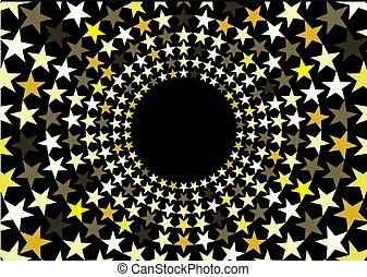環繞, 星, 背景
