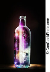 瓶子, 宇宙