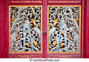 瓷器, 門