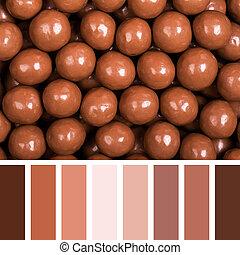 甘いもの, パレット, チョコレート