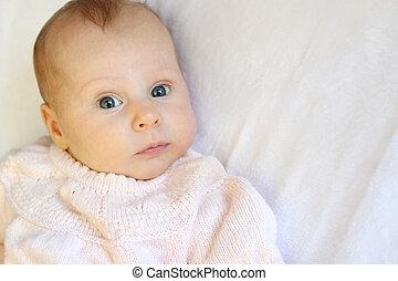 甘い, カンニングしなさい, 警告, 生まれたての赤ん坊, 女の子