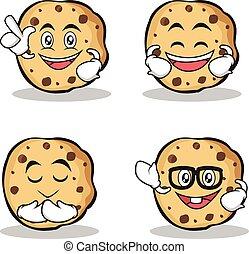 甘い, クッキー, セット, 特徴, 漫画