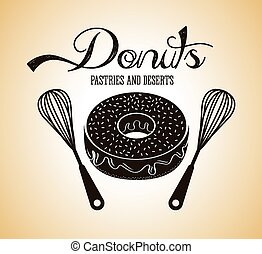甘い, ドーナツ