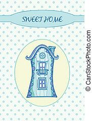 甘い, 家, -, カード