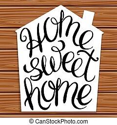 甘い, 家