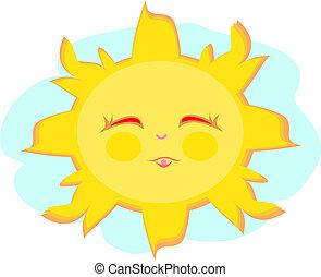 甘い, 幸せ, 太陽