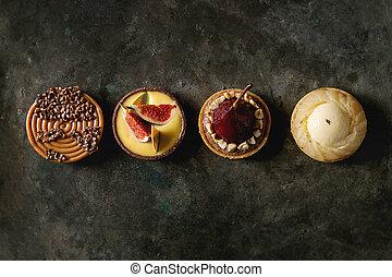 甘い, tartlets, 変化