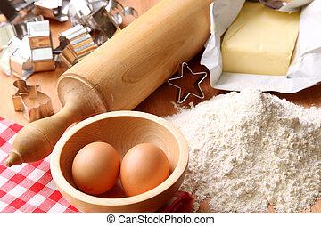 甜面包, 烘烤