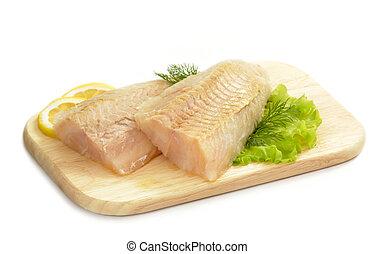 生の魚, フィレ